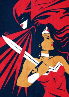 Batwoman and Wonder Woman
