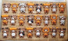 Rilakkuma & Mameshiba Halloween Cookies - Cute · Kawaii | Blog ...