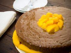 Receta de Pastel de 3 Leches y Mango