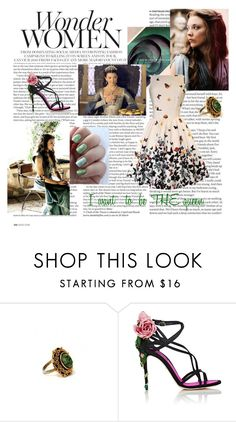 """""""Margaery Tyrell (Game of Thrones)"""" by ladymachiavelli ❤ liked on Polyvore featuring ASOS, Dolce&Gabbana and GameOfThrones"""
