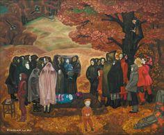 1973 год Попков Виктор Ефимович (Россия, 1932–1974) «Хороший человек была бабка Анисья».