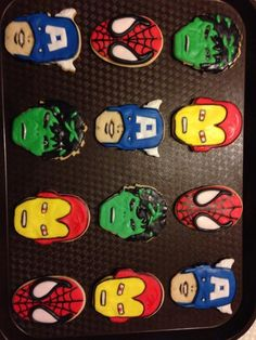 Super Hero Cookies:)