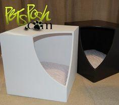Cubo Casita Minimalista Decorativo P/ Mascota Perro Gato Nvd