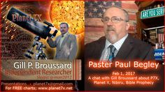 """""""Planet 7X"""": Feb 01, 2017 Paul Begley Planet 7X with Gill Broussard  Interview"""