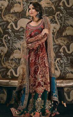 90626742c4f7 Pakistani Bridal Couture, Pakistani Wedding Dresses, Bridal Lehenga, Indian  Bridal, Pakistani Outfits