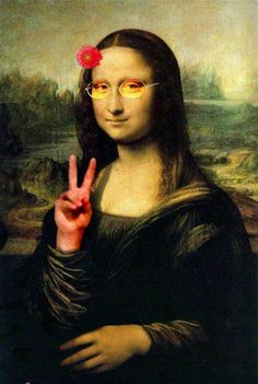 Mona comes in peace
