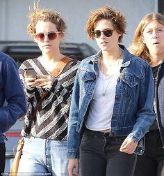 Riley with her friend actress Kristen Stewart