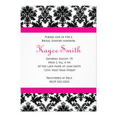 >>>best recommended          	Black and hot Pink Damask Invitation           	Black and hot Pink Damask Invitation This site is will advise you where to buyThis Deals          	Black and hot Pink Damask Invitation Online Secure Check out Quick and Easy...Cleck Hot Deals >>> http://www.zazzle.com/black_and_hot_pink_damask_invitation-161507998216963822?rf=238627982471231924&zbar=1&tc=terrest