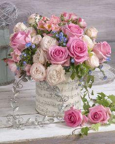 Rosas y música