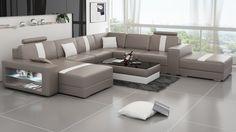Katrina Leather Sofa Sectional
