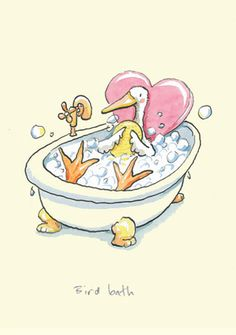 BIRD BATH - by Anita Jeram