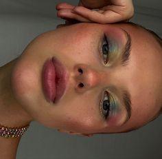 Makeup Eye Looks, Cute Makeup, Pretty Makeup, Skin Makeup, 60s Makeup, Edgy Makeup, Eye Makeup Art, Makeup Goals, Makeup Tips