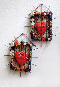 sacred heart ornaments