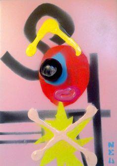 Tableau en volume BIG BANG Nea Borgel PopArt Street Art Jouets Land Art