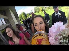 Wedding Filmed by a GoPro Attached to a Whiskey Bottle