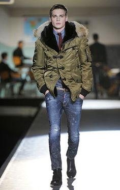 Dsquared2 Experience – Collections | MEN – FALL/WINTER 2012