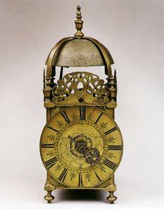 John Walker Fecit  A rare late 17th/early 18th century lantern clock