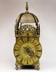 A rare late 17th/early 18th century lantern clock