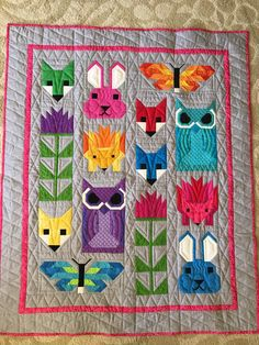 6 Fancy Forest Quilt Along Quilting Elizabeth