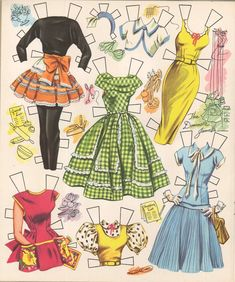 VINTGE 1955 JANE POWELL PAPER DOLL ~Pretty~ REPRODUCTION~Org SIZE Uncut NO1 SELR   eBay