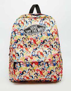 Vans x Disney Princess Backpack. Everything Vans and Disney is awesome.
