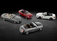Mercedes-Benz SL SLC C S class line up