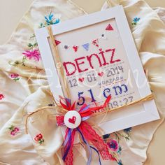 Zeinepuu: Deniz*in doğum panosu ♥ Cross Stitch, Frame, Life, Home Decor, Picture Frame, Crossstitch, Punto Croce, A Frame, Interior Design