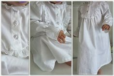 Bedtime nightgown | Timeless in white
