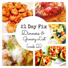 21 Day Fix Meal Plan & Grocery List Make Ahead Dinners - Confessions of a Fit Foodie Meal Plan Grocery List, Grocery Lists, 21 Day Fix Meal Plan, Dinner This Week, Dinners To Make, Healthy Recipes, Ww Recipes, Healthy Dinners, Healthy Foods