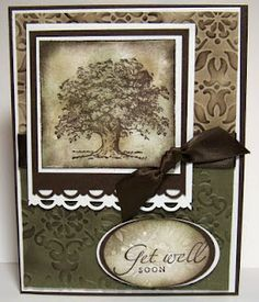 Stamping with Julie Gearinger: Lovely As A Tree