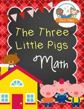 Three Little Pigs Printable Math Activities