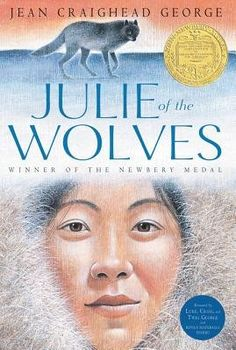 Julie of the Wolves (HarperClassics): Jean Craighead George, John Schoenherr. Jean Craighead George's Newbery Medal–winning classic about an Eskimo girl lost on the Alaskan tundra now features bonus content. Wolf Book, Newbery Medal, Newbery Award, Thing 1, Scratchboard, Chapter Books, Wilderness Survival, Children's Literature, Book Lists