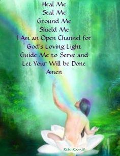 Energy Healing Prayer from the Reiki Room