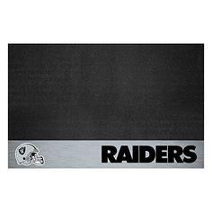 Oakland Raiders Grill Mat