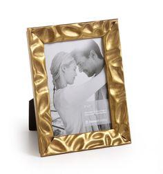 """#33055 - Vintage, 1¼"""" Gold Leaf - Roma Photo Frame - Roma Moulding"""