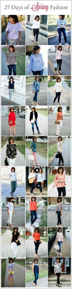 27 Days of Spring Fashion Recap