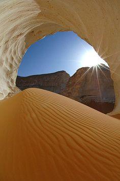 púšt West v Egypte,