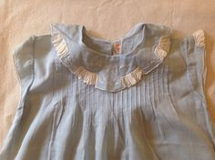 Darling Vintage 1920's Blue Baby Dress | eBay