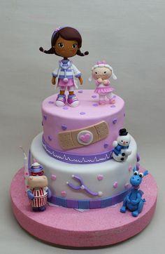 Resultado de imagen para pastel doctora juguetes
