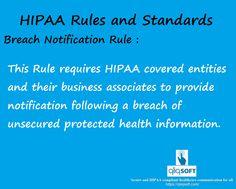#HIPAA education of the week : Breach Notification Rule