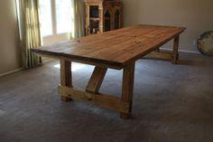 6' Farmhouse Dining Room Table