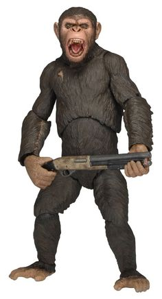 "Caesar Dawn of the Planet of the Apes Series 2 Action Figure 7"" NECA #NECA"