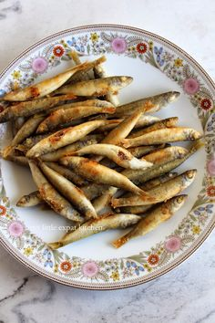Fried whitebait by My Little Expat Kitchen: Greek eats ΙΙ