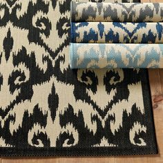 The Sumatra Ikat Indoor Outdoor Rug has global allure and a timeless geometric feel. Perfect as a patio rug or kitchen rug, the durable fibers are perfect for high traffic areas while remaining bare foot comfortable. Indoor Outdoor Area Rugs, Outdoor Areas, Patio Rugs, Entry Rug, Kitchen Rug, Cool Rugs, Ballard Designs, Mild Soap, Ikat