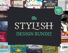 "Check out new work on my @Behance portfolio: ""The Stylish Design Bundle – 99% Off"" http://be.net/gallery/50491351/The-Stylish-Design-Bundle-99-Off"