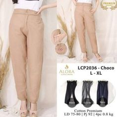 Pusat Grosir Baju Wanita | Celana Wanita Standar Harem Pants, Khaki Pants, Jakarta, Muslim, Capri Pants, Surabaya, Dan, Model, Cotton