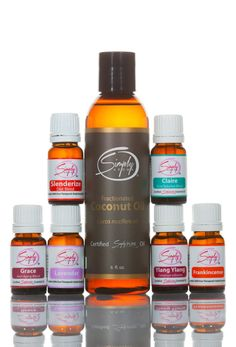 Simply Aroma - Essential oils are one of nature's best kept secrets for skincare. Incorporating these oils into your daily skincare regimen can improve the clarity, reduce the effects of aging and nourish your skin. Beauty Care Package #1 Includes: 1 - Claire Essential Oil (Acne Solution Blend) 10mL 1 - Grace Essential Oil (Anti-aging Blend) 10mL 1 - Slenderize Essential Oil (Diet Blend) 10mL 1 - Lavender Essential Oil 10mL 1 - Frankincense Essential Oil 10mL 1 - ...