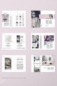 Travel Design Layout Magazine Covers 48 Ideas For 2019 Web Design, Book Design, Cover Design, Design Ideas, Design Trends, Design Art, Editorial Layout, Editorial Design, Black And White Magazine