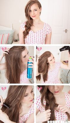 Top 10 Romantic Hair Style Tutorials for your First Date