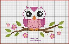 1 million+ Stunning Free Images to Use Anywhere Cross Stitch Owl, Free Cross Stitch Charts, Cross Stitch Books, Cross Stitch Cards, Cross Stitch Borders, Cross Stitch Designs, Cross Stitching, Cross Stitch Embroidery, Crochet Border Patterns